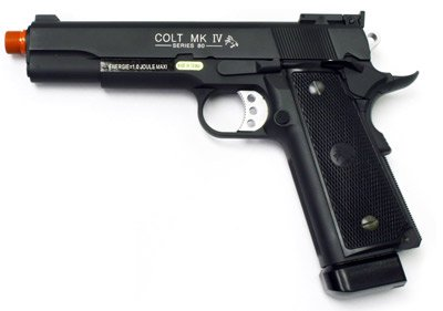 Colt 1911 MK IV CO2 Full Metal Pistol airsoft gun