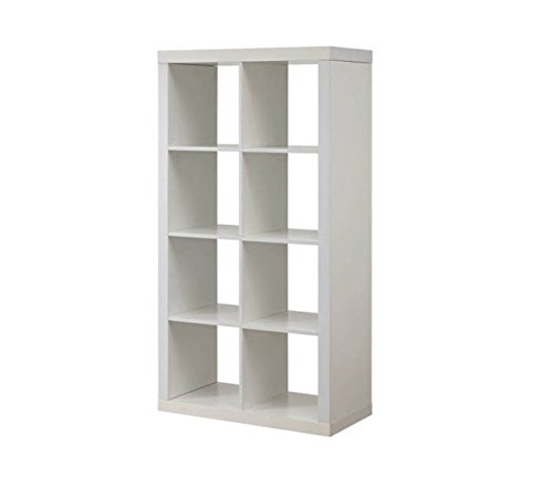 Better Homes And Gardens Furniture 8 Cube Room Organizer Storage Divider Bookcase White By N A