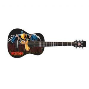 Peavey Marvel Universe Wolverine 1/2 Junior Size Acoustic Guitar