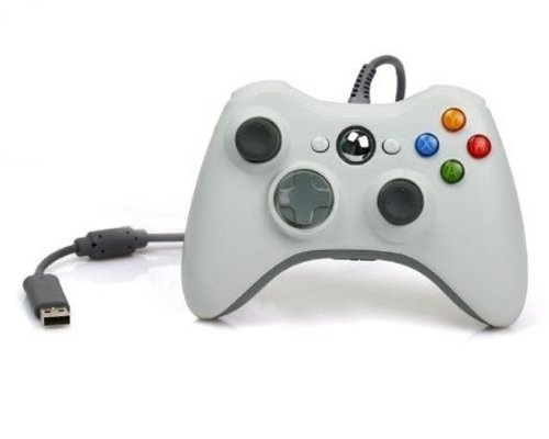 Sqdeal Wired Usb Controller For Xbox 360 Xbox360 And Pc Computer (White)