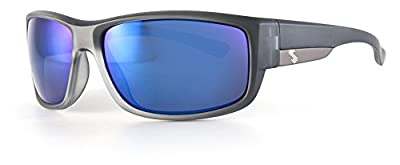 Sundog Ergo Frame with Polarized Lens, Matte Crystal Black with Smoke