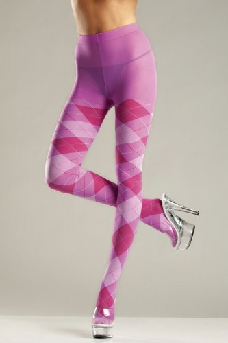 Be Wicked Costumes ARGYLE TIGHTS