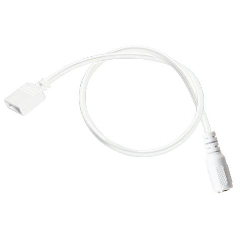 Kichler Lighting 2Sl1Wh 12-Inch Power Supply Lead, White