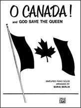 O Canada! and God Save the Queen Sheet