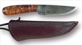 Roach Belly Neck Knife With Sheath