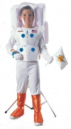 Imagen 1 de Childrens Astronaut Fancy Dress Costume - Medium Size (disfraz)