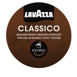 Lavazza Espresso Packs for Keurig Rivo Systems