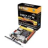 ZOTAC Socket 1155/Intel H67 B3/SATA3 and USB 3.0/Wi-Fi/A&V&GbE/Mini ITX Motherboard H67ITX-C-E