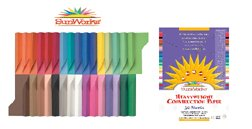 SunWorks Construction Paper, 9 inches x12 inches, 100 Sheets Per Package, Assorted Colors (6504)