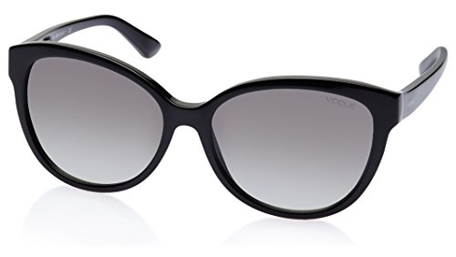 Vogue Vogue Wayfarer Sunglasses (Black) (0VO2852SM|W44\/11|57)