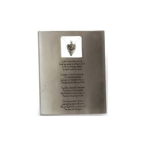 .com - The Broken Chain Poem Memorial Plaque - Decorative Plaques