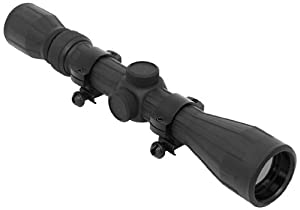NcStar 3-9X40 Rubber Scope/Ruby Lens/Ring (SFR3940R)