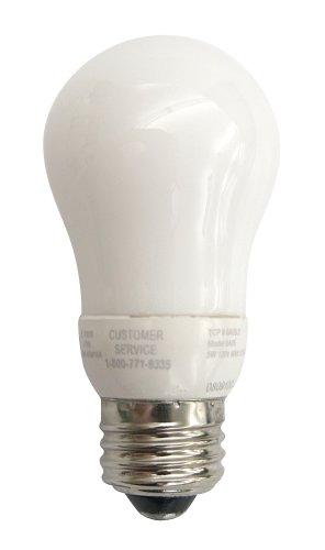 TCP 8A05F Frosted Cold Cathode 5 Watt Compact Fluorescent Light Bulb