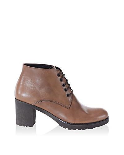 UMA Zapatos abotinados Loren Marrón