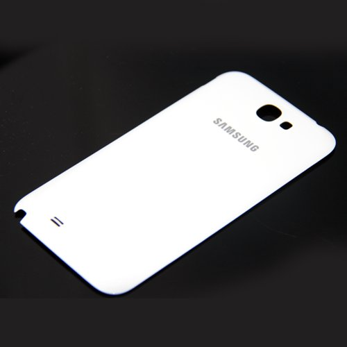 ePartSolution-OEM Samsung Galaxy Note 2 II N7100 T889 i317 i605 L900 Back Cover Battery Door Housing White Replacement Part USA Seller (Note 2 Case White compare prices)