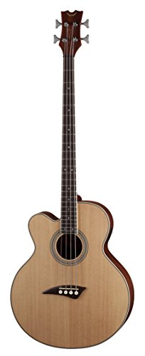 Dean Guitars Eabc L Acoustic Electric Bass Caw Lefty, Satin Natural
