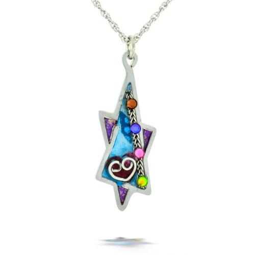 Heart and Star of David Necklace from the Artazia Collection #288PU JN