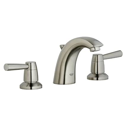 Grohe K20121-18083-EN1 Arden Lavatory Lever Faucet Kit, Brushed Nickel