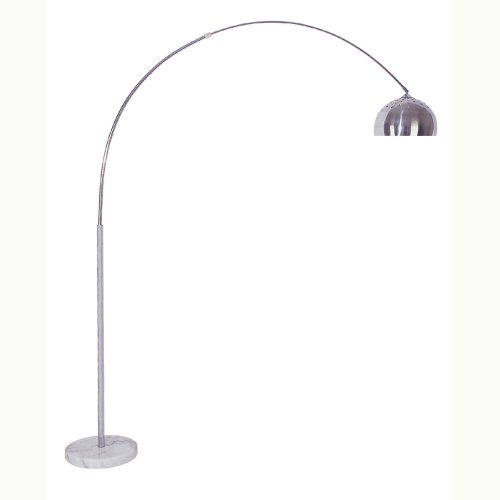 """Four-Bros 6935-Led Arch Floor Lamp With Marble Base 85"""" High"""