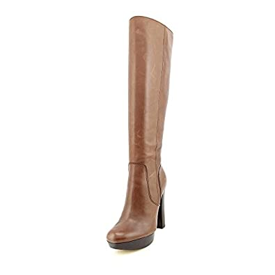 Michael Kors Lesly Boot Womens Size 6 Brown Fashion Knee-High Boots