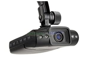 "Car DVR Camera Camcorder Recorder w/ 4 LED IR Night Vision and 2.5"" LCD by VisionTek"