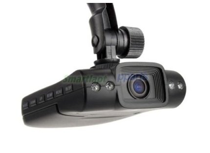 """Car DVR Camera Camcorder Recorder w/ 4 LED IR Night Vision and 2.5"""" LCD"""