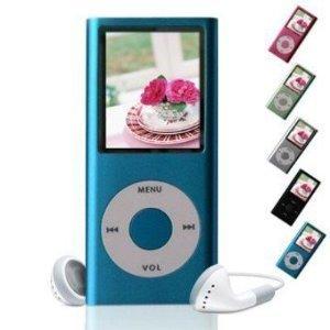 best lecteur mp4 mp3 4gb dictaphone musique photo vid o radio fm couleur bleu prix lecteurs mp3. Black Bedroom Furniture Sets. Home Design Ideas
