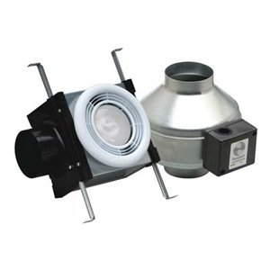 fantech pb110f bathroom exhaust fan 4 duct 110 cfm energy star. Black Bedroom Furniture Sets. Home Design Ideas