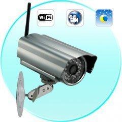 Skynet One IP Security Camera (WIFI, DVR, Night Vision) - High quality CMOS sensor & Waterproof