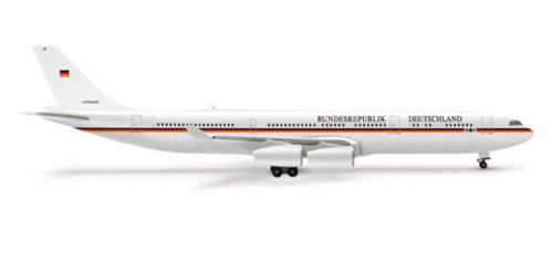 Herpa Wings Luftwaffe A340-300 Model Airplane