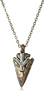 Low Luv by Erin Wasson 14k Gold-Plated Arrowhead Pendant Necklace