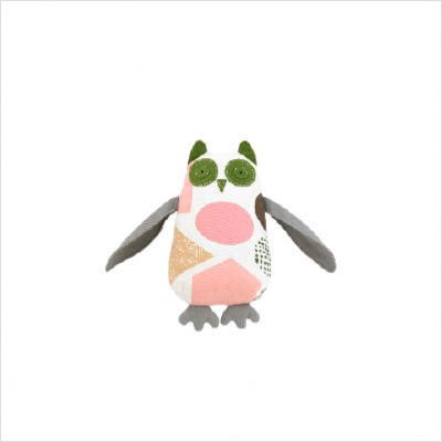 DwellStudio Stuffed Animal Plush Toy, Owl