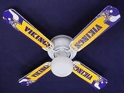 Ceiling Fan Designers Ceiling Fan, Nfl Minnesota Vikings Football, 42\