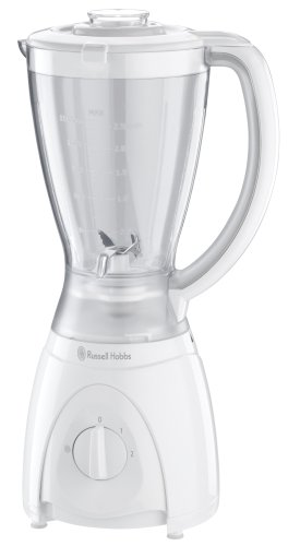 Russell Hobbs 14449 Food Collection Jug Blender, 1.5 L, 400 W - White by Russell Hobbs