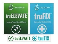Truvision Health - TruFix/TruElevate- 30 Day Supply - (120) Capsules - Replace Weight and Energy with Better Formula