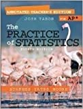 img - for The Practice of Statistics Fourth Edition: Annotated Teacher's Edition for AP book / textbook / text book