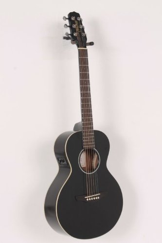 Takamine G Series Egmini-Bk Mini Acoustic Electric Guitar, Black