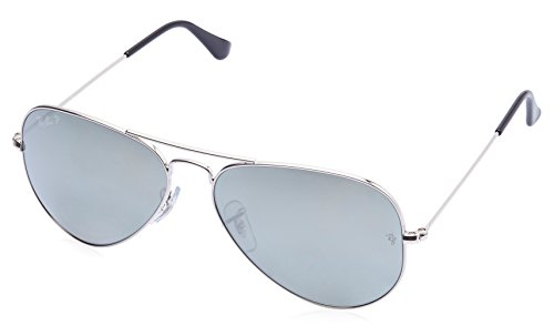 Ray-Ban Aviator Sunglasses (Silver) (RB3025|003/59|58)