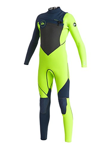 Quiksilver Boys Ag47 Performance 3/2Mm - Chest Zip Wetsuit Wetsuit Black 8 (Quiksilver Waist Pack compare prices)