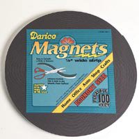Magnet Tape Adhesive Backed Flexible Magnetic Roll 1/2 inch x 100 FEET