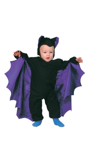 [Cute-T Bat Infant Costume by RG Costumes] (Toddler Vampire Halloween Costumes)