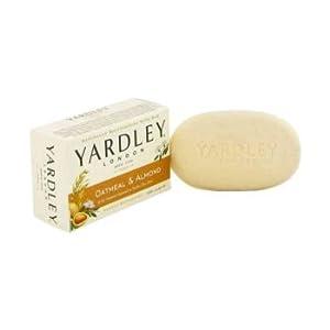 Yardley London Soaps by Yardley London Oatmeal & Almond Naturally Moisturizing Bath Bar 4.25 oz Women's