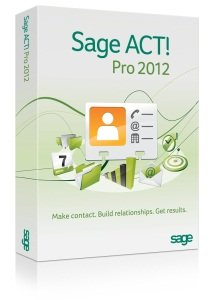 Sage ACT! Pro 2012 Upgrade - Includes 1 hour ACT! 101 training webinar held weekly