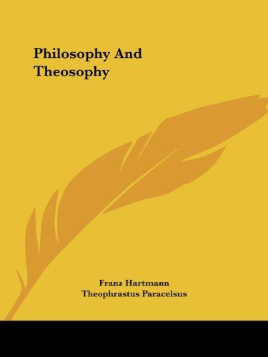 Philosophy and Theosophy