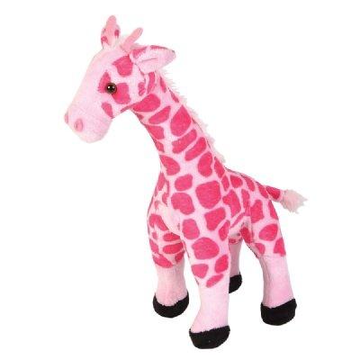 Smooth Pink Giraffe Stuffed Animal (11-Inch) front-270863