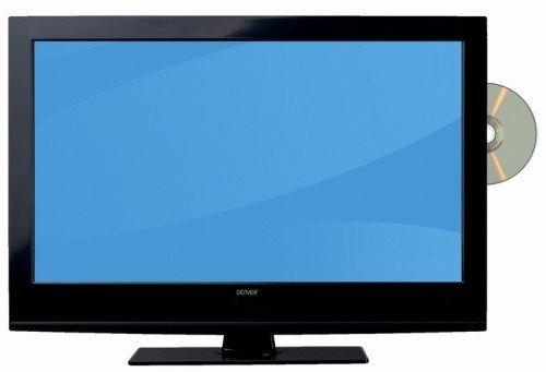LED Fernseher 61 cm (24 Zoll) mit DVD-Player, DVB-S2, DVB-T2, DVB-C, USB, MPEG4 Denver LDD-2466