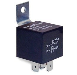 Parts Express 12 VDC Waterproof Relay SPDT 30/40A with Metal Bracket by Parts Express