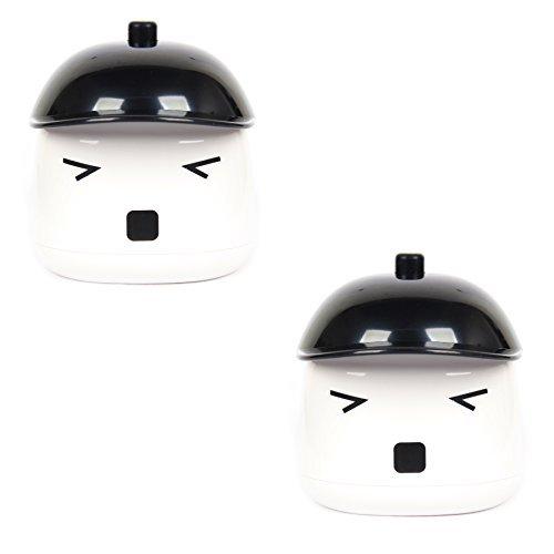 FreshGadgetz Set aus 2 Cute Sauna Boy tragbarer Mini Luftbefeuchter USB-betrieben für Heim & Büro