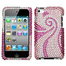 MyBat Apple iPod Touch 4G Diamante Protector Cover - Phoenix Tail