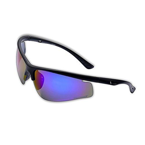 KastKing® Pioneer Polarized Sport Sunglasses Revo Lenses TR90 Frame UV Protection - FeatherLite Only .6oz (Blue Mirror)